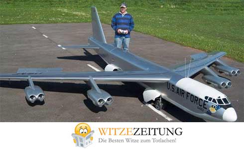 Flugzeug Witze