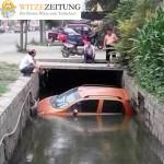 Auto im Wasser