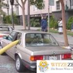 Feuerwehr schlecht geparkt