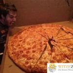 Männer Pizza
