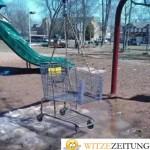 Spielplatz Schaukel