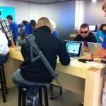 Terrorist Apple Store