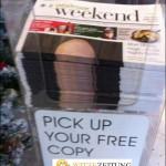 Versaute Zeitung