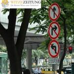 Straßenschild Richtung