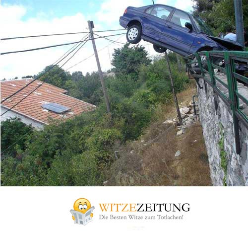 Autounfall Crash