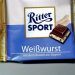Ritter Sport Weisswurst