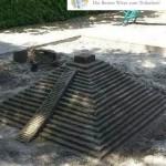 Tempel aus Sand