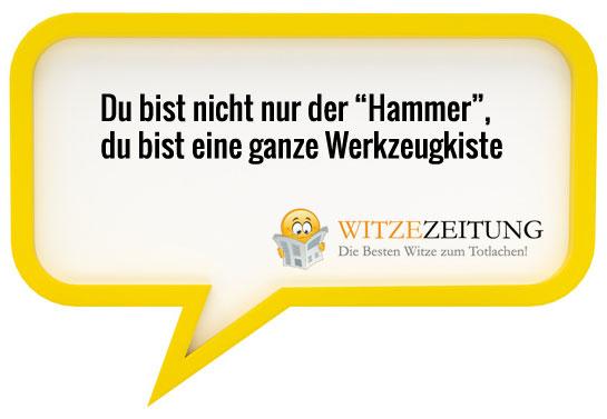 Hammer Sprüche